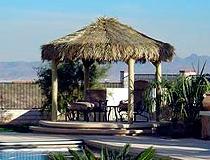 Tiki Hut San Diego 4 Pole