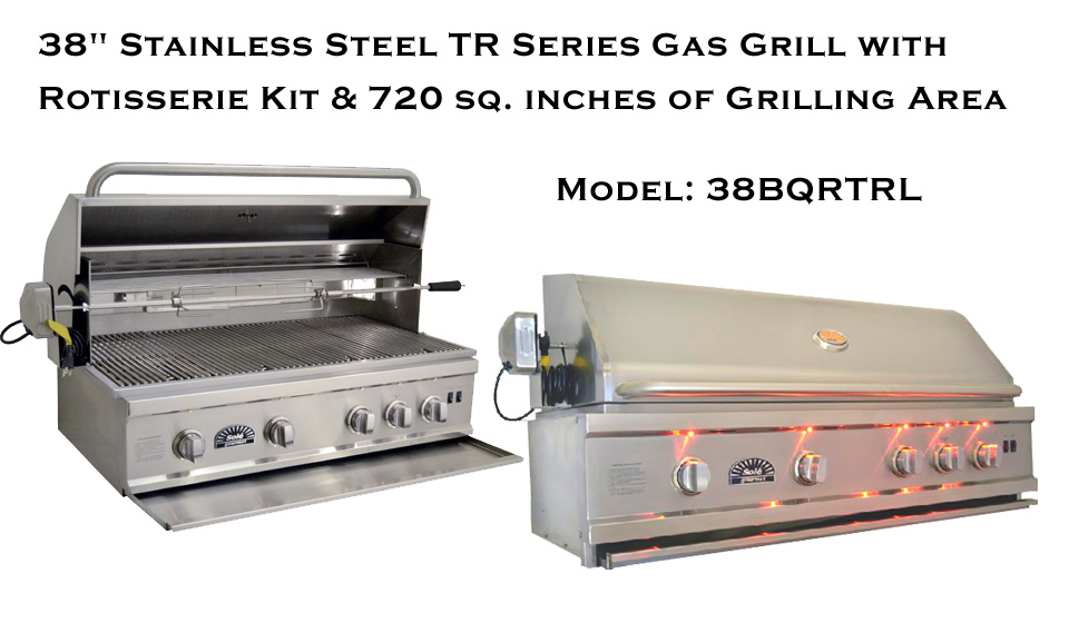 38 Inch Solé Gourmet Grill