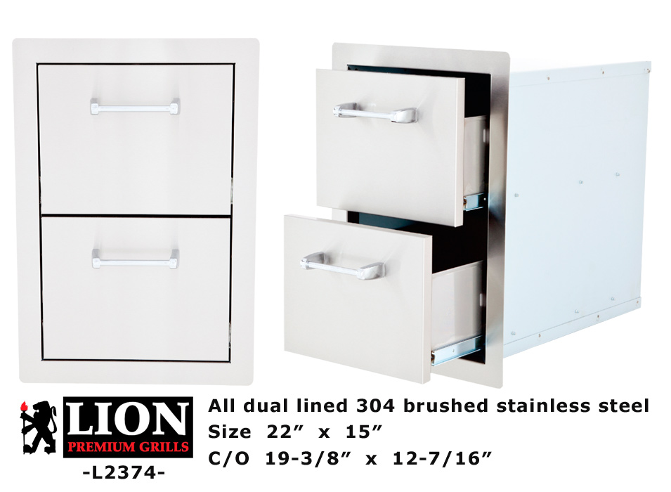 LION 2 Drawer Stack Component