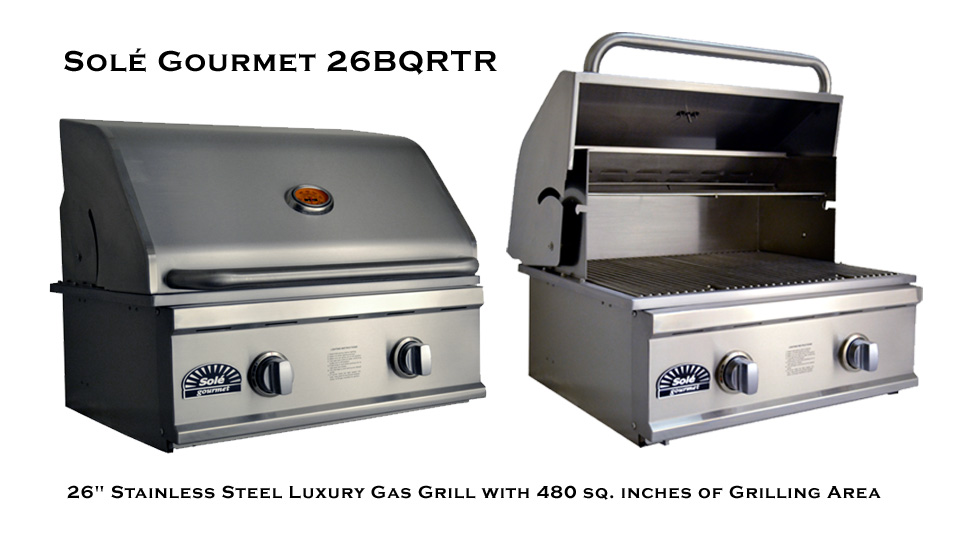 26 Inch Solé Gourmet Grill