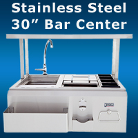 Stainless Steel Bar BBQ Island San Diego