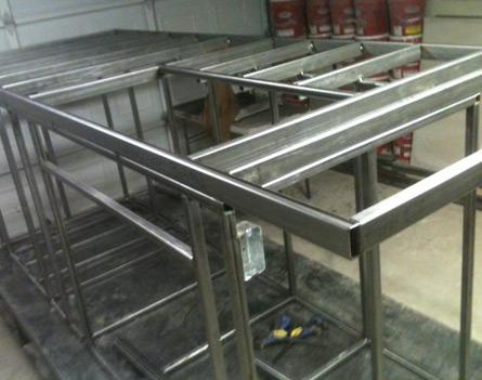 BBQ Island Steel Frame