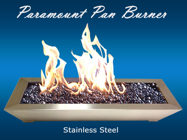 Stainless Steel pan burner san diego