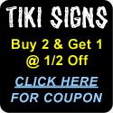 Tiki Signs