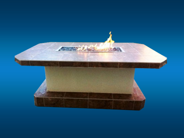 Custom Built Fire Tables San Diego