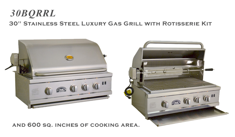 32 Inch Solé Gourmet Luxury Grill