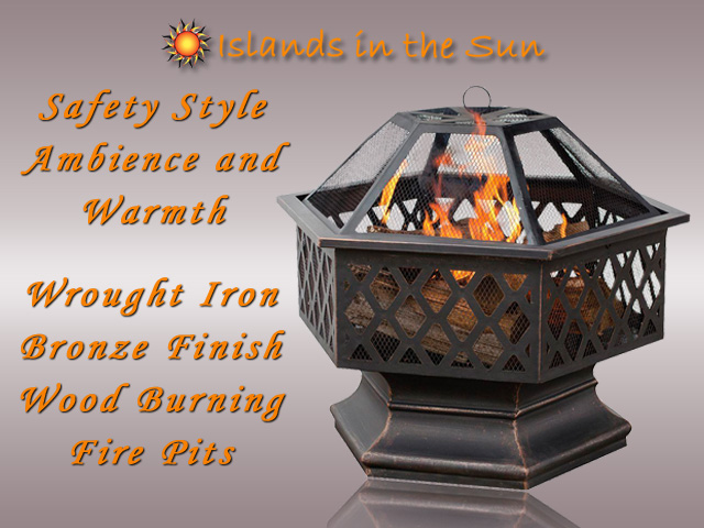 Outdoor Wood Burning Fire Pits San Diego