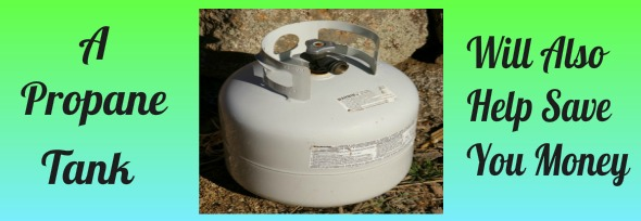 Propane Tank Trash Pullout Easy Access To Everything