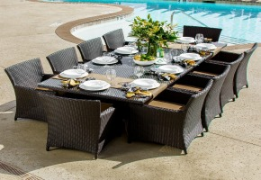 Most Beautiful Dining Tables beautiful outdoor dining tables –– reviews / ratings