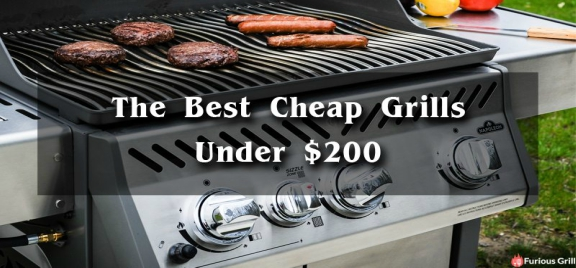 Find the Best Gas Grills Under 200 Dollars For Your Budget