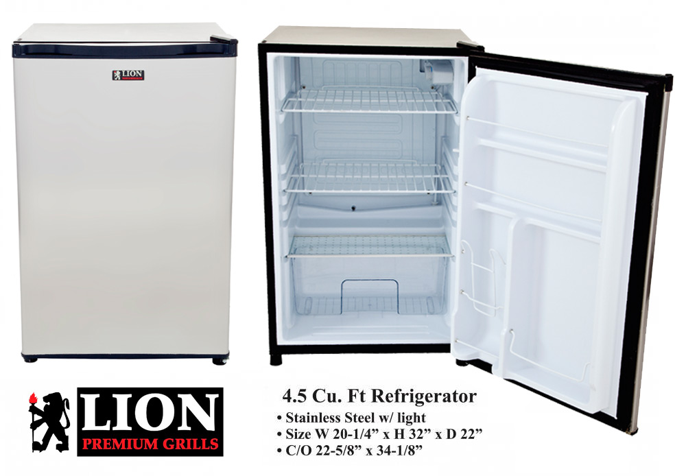 LION - Stainless Steel Refrigerator