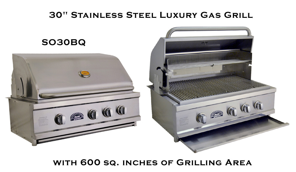 30 Inch Solé Gourmet Luxury Grill