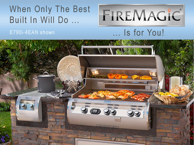 Built In Fire Magic Grill San Diego