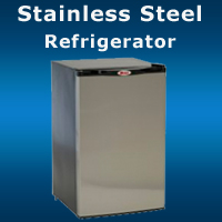 Stainless Steel Grill Island Refrigerator San diego