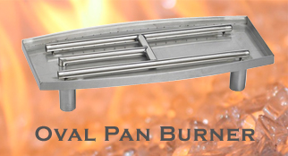 Gas Fire Burner Pan San Diego
