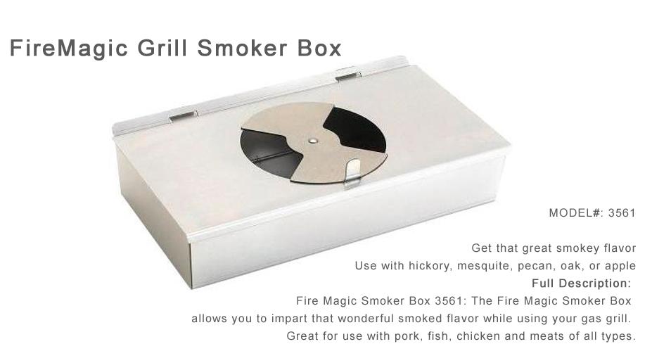 FireMagic Grill Smoker Box