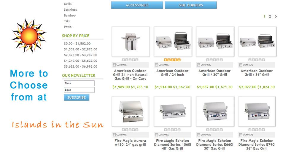 Shop Islands in the Sun Online Store