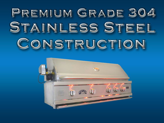 sole gourmet grill 304 stainless