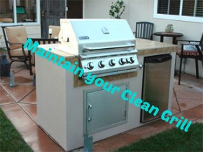 Choose to Maintain your Clean Grill