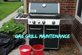 Grill maintenance: Gas Grill Maintenance