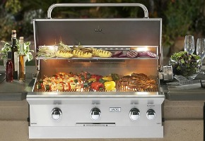 American Outdoor Grill Drop-In Side Burner