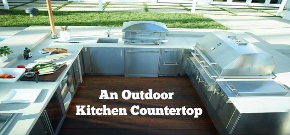 best countertop for outdoor kitchen designing the best outdoor kitchen countertop archives bbq island san diego
