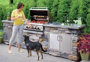 Access Door & Double Drawer Combo For Your Outdoor Kitchen