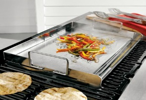 A Stainless Steel Griddle Is A Great Addition To Your Grill