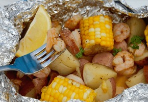 A Shrimp Boil On The Grill