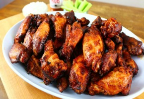 A Smoked Party Wings