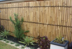 Bamboo Poles and Fences For Your Outdoor Kitchen