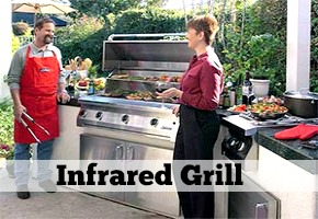 Stainless Steel Outdoor Grills: CONVECTION vs INFRARED GRILL