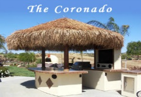 Tiki Hut - Additional Decor To Your Outdoor Kitchen
