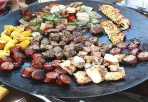 BBQ Wok, Perfect Ideas for Outdoor Cooking