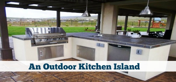 Creating A Kitchen Island: Tips For Creating An Outdoor Kitchen Island In San Diego
