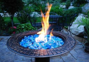 Fire Glass the New Trend to Replace Wood!