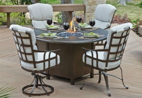 Why Fire Tables Are The Latest In Outdoor Patio Dining Furniture